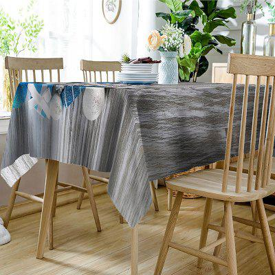 Festival Decorations Print Waterproof Table ClothTable Accessories<br>Festival Decorations Print Waterproof Table Cloth<br><br>Material: Polyester<br>Package Contents: 1 x Table Cloth<br>Pattern Type: Ball, Wood Grain<br>Type: Table Cloth<br>Weight: 0.3150kg