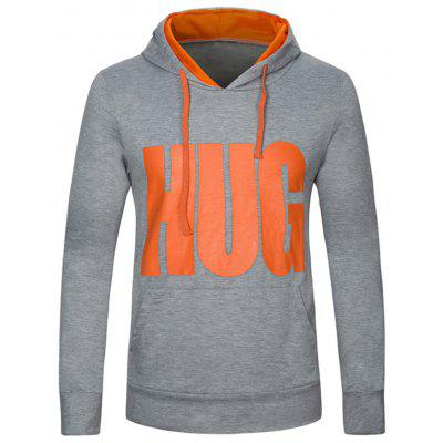 Graphic Print Hooded Pullover Hoodie