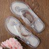 Casual Tansparent Clear Flip Flops - BRANCO