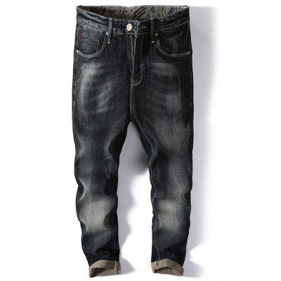 Classic Slim Faded Jeans
