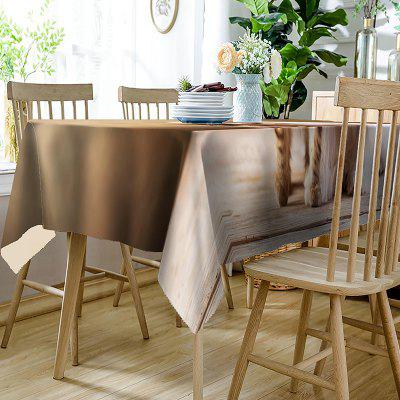Cat and Dog Print Waterproof Table ClothTable Accessories<br>Cat and Dog Print Waterproof Table Cloth<br><br>Material: Polyester<br>Package Contents: 1 x Table Cloth<br>Pattern Type: 3D, Animal<br>Type: Table Cloth<br>Weight: 0.4050kg
