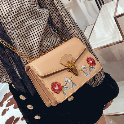 Floral Embroidery Flap Chain Crossbody BagCrossbody Bags<br>Floral Embroidery Flap Chain Crossbody Bag<br><br>Closure Type: Hasp<br>Embellishment: Embroidery<br>Gender: For Women<br>Handbag Size: Small(20-30cm)<br>Handbag Type: Crossbody bag<br>Interior: Cell Phone Pocket<br>Main Material: PU<br>Occasion: Versatile<br>Package Contents: 1 x Crossbody Bag<br>Pattern Type: Floral<br>Size(CM)(L*W*H): 21*10*15CM<br>Style: Fashion<br>Weight: 0.6000kg