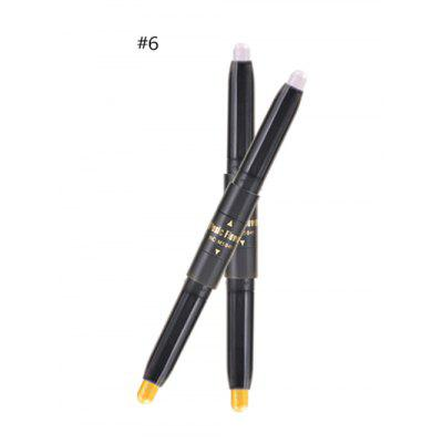 Professional Natural Color Shimmer Double Ended Eyeshadow Stick