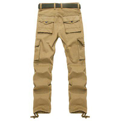 Drawstring Hem Straight Cargo PantsMens Pants<br>Drawstring Hem Straight Cargo Pants<br><br>Closure Type: Zipper Fly<br>Fit Type: Regular<br>Front Style: Pleated<br>Material: Cotton Blends<br>Package Contents: 1 x Pants<br>Pant Length: Long Pants<br>Pant Style: Cargo Pants<br>Style: Casual<br>Waist Type: Mid<br>Weight: 0.8100kg<br>With Belt: No