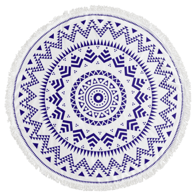 Round Geometrical Print Fringe Beach BlanketLingerie &amp; Shapewear<br>Round Geometrical Print Fringe Beach Blanket<br><br>Embellishment: Fringed<br>Gender: For Women<br>Material: Polyester<br>Package Contents: 1 x Beach Throw<br>Pattern Type: Geometric<br>Weight: 0.3300kg