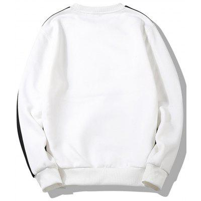 Contrast Trim Crew Neck SweatshirtMens Hoodies &amp; Sweatshirts<br>Contrast Trim Crew Neck Sweatshirt<br><br>Material: Cotton, Polyester<br>Package Contents: 1 x Sweatshirt<br>Shirt Length: Regular<br>Sleeve Length: Full<br>Style: Casual<br>Weight: 0.4700kg