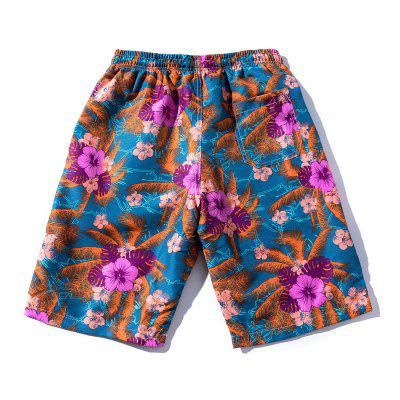 Drawstring Florals Beach ShortsMens Shorts<br>Drawstring Florals Beach Shorts<br><br>Closure Type: Drawstring<br>Fit Type: Regular<br>Front Style: Flat<br>Length: Bermuda<br>Material: Cotton, Polyester<br>Package Contents: 1 x Board Shorts<br>Pattern Type: Leaf, Flower<br>Style: Fashion<br>Waist Type: Mid<br>Weight: 0.2200kg<br>With Belt: Yes