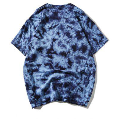 Short Sleeve Tie Dyed T-shirtMens Short Sleeve Tees<br>Short Sleeve Tie Dyed T-shirt<br><br>Collar: Round Neck<br>Material: Polyester<br>Package Contents: 1 x T-shirt<br>Pattern Type: Others<br>Sleeve Length: Short<br>Style: Casual<br>Weight: 0.2900kg
