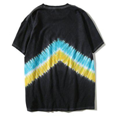 Short Sleeve Tie Dyed Chevron T-shirtMens Short Sleeve Tees<br>Short Sleeve Tie Dyed Chevron T-shirt<br><br>Collar: Round Neck<br>Material: Polyester<br>Package Contents: 1 x T-shirt<br>Pattern Type: Others<br>Sleeve Length: Short<br>Style: Casual<br>Weight: 0.2900kg
