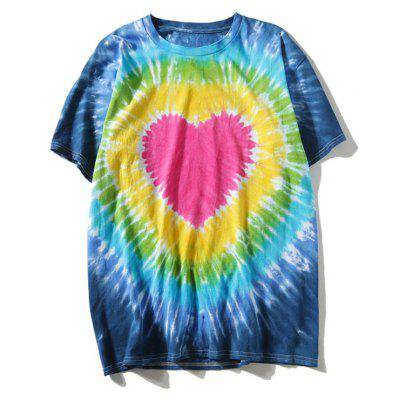 Heart Tie Dyed T-shirt