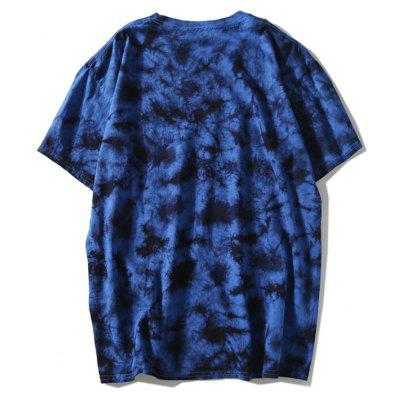 Casual Round Neck Tie Dye TeeMens Short Sleeve Tees<br>Casual Round Neck Tie Dye Tee<br><br>Collar: Round Neck<br>Material: Polyester<br>Package Contents: 1 x T-shirt<br>Pattern Type: Others<br>Sleeve Length: Short<br>Style: Casual<br>Weight: 0.2900kg
