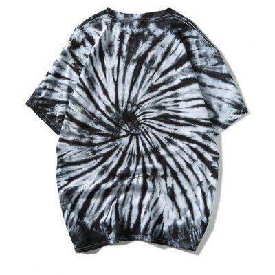 Tie Dye Casual T-shirtMens Short Sleeve Tees<br>Tie Dye Casual T-shirt<br><br>Collar: Round Neck<br>Material: Polyester<br>Package Contents: 1 x T-shirt<br>Pattern Type: Others<br>Sleeve Length: Short<br>Style: Casual<br>Weight: 0.2900kg