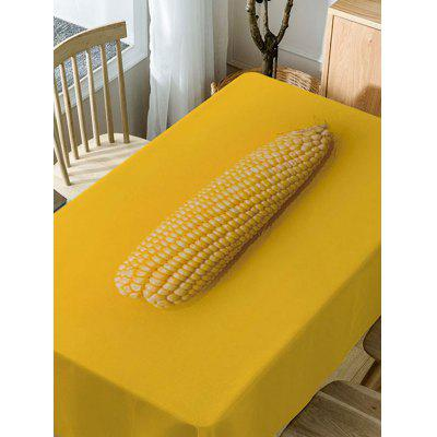 Corn Print Fabric Waterproof Table ClothTable Accessories<br>Corn Print Fabric Waterproof Table Cloth<br><br>Material: Polyester<br>Package Contents: 1 x Table Cloth<br>Pattern Type: Food<br>Type: Table Cloth<br>Weight: 0.3750kg