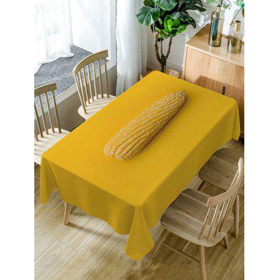 Corn Print Fabric Waterproof Table Cloth