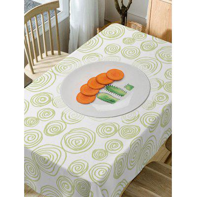 Carrot Coil Pattern Fabric Waterproof Table ClothTable Accessories<br>Carrot Coil Pattern Fabric Waterproof Table Cloth<br><br>Material: Polyester<br>Package Contents: 1 x Table Cloth<br>Pattern Type: Food<br>Type: Table Cloth<br>Weight: 0.5900kg