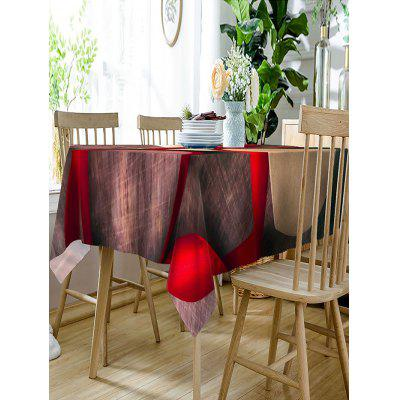 Valentines Day Gift Ribbon Waterproof Table ClothTable Accessories<br>Valentines Day Gift Ribbon Waterproof Table Cloth<br><br>Material: Polyester<br>Package Contents: 1 x Table Cloth<br>Pattern Type: 3D, Heart<br>Type: Table Cloth<br>Weight: 0.2300kg