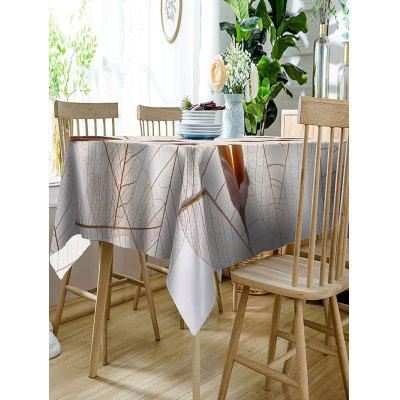 Leaves and Flowers Print Waterproof Table ClothTable Accessories<br>Leaves and Flowers Print Waterproof Table Cloth<br><br>Material: Polyester<br>Package Contents: 1 x Table Cloth<br>Pattern Type: Plant<br>Type: Table Cloth<br>Weight: 0.4050kg