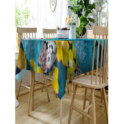 Waterproof Raindrops Leaves Print Table ClothTable Accessories<br>Waterproof Raindrops Leaves Print Table Cloth<br><br>Material: Polyester<br>Package Contents: 1 x Table Cloth<br>Pattern Type: Plant<br>Type: Table Cloth<br>Weight: 0.4050kg
