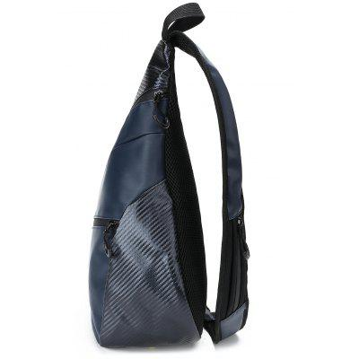 Outdoor Casual Chest PackCrossbody Bags<br>Outdoor Casual Chest Pack<br><br>Closure Type: Zipper<br>Gender: For Men<br>Height: 48CM<br>Length: 24CM<br>Main Material: Nylon<br>Package Contents: 1 x Chest Pack<br>Pattern Type: Letter<br>Weight: 1.2000kg<br>Width: 14CM
