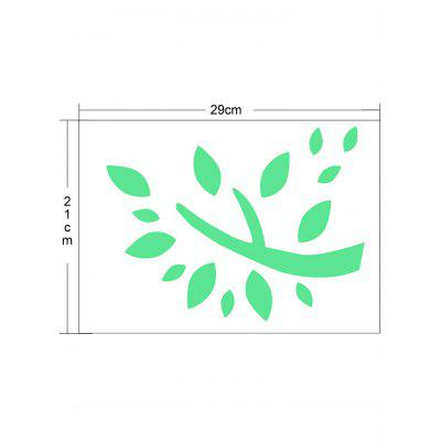 Leaves Luminous Wall StickerWall Stickers<br>Leaves Luminous Wall Sticker<br><br>Feature: Removable<br>Functions: Decorative Wall Stickers<br>Material: Other<br>Package Contents: 1 x Wall Sticker<br>Pattern Type: Leaf<br>Wall Sticker Type: Plane Wall Stickers<br>Weight: 0.0230kg