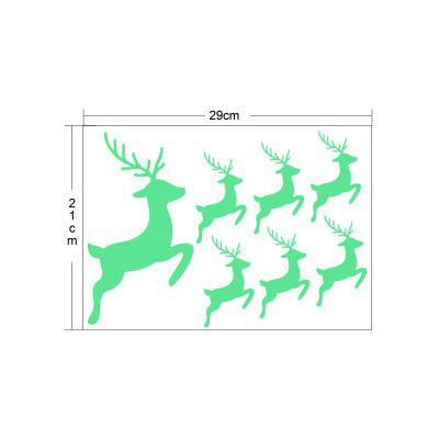 Running Deer Glow In The Dark Wall StickerWall Stickers<br>Running Deer Glow In The Dark Wall Sticker<br><br>Feature: Removable<br>Functions: Decorative Wall Stickers<br>Material: Other<br>Package Contents: 1 x Wall Sticker<br>Pattern Type: Animal<br>Theme: Animals<br>Wall Sticker Type: Plane Wall Stickers<br>Weight: 0.0260kg