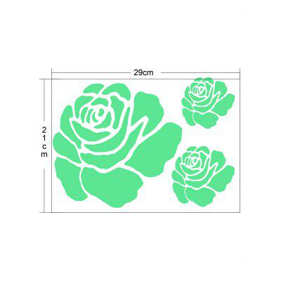 Rose Flower Glow In The Dark Wall StickerWall Stickers<br>Rose Flower Glow In The Dark Wall Sticker<br><br>Feature: Removable<br>Functions: Decorative Wall Stickers<br>Material: Other<br>Package Contents: 1 x Wall Sticker<br>Pattern Type: Floral<br>Theme: Florals<br>Wall Sticker Type: Plane Wall Stickers<br>Weight: 0.0260kg