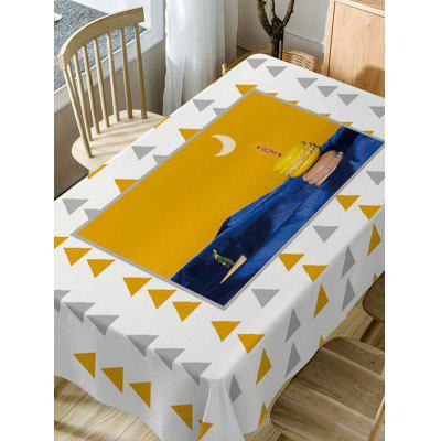 Triangle Print Fabric Waterproof Table ClothTable Accessories<br>Triangle Print Fabric Waterproof Table Cloth<br><br>Material: Polyester<br>Package Contents: 1 x Table Cloth<br>Pattern Type: Geometric<br>Type: Table Cloth<br>Weight: 0.5900kg