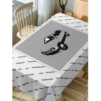 Car Print Fabric Waterproof Table ClothTable Accessories<br>Car Print Fabric Waterproof Table Cloth<br><br>Material: Polyester<br>Package Contents: 1 x Table Cloth<br>Pattern Type: Striped<br>Type: Table Cloth<br>Weight: 0.5900kg