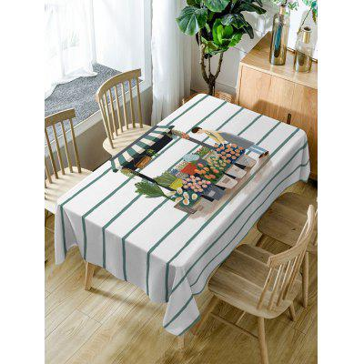 Florist and Flower Shop Print Waterproof Table Cloth