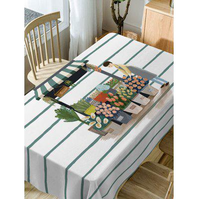 Florist and Flower Shop Print Waterproof Table ClothTable Accessories<br>Florist and Flower Shop Print Waterproof Table Cloth<br><br>Material: Polyester<br>Package Contents: 1 x Table Cloth<br>Pattern Type: Forest<br>Type: Table Cloth<br>Weight: 0.5900kg