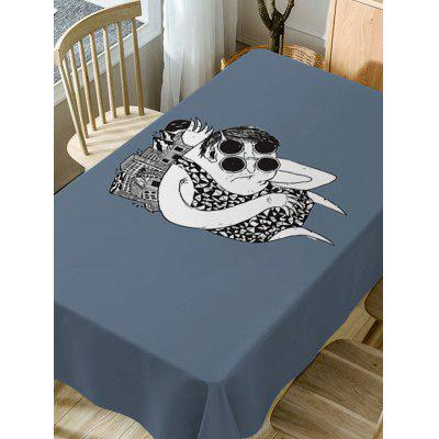 Cartoon Print Fabric Waterproof Table ClothTable Accessories<br>Cartoon Print Fabric Waterproof Table Cloth<br><br>Material: Polyester<br>Package Contents: 1 x Table Cloth<br>Pattern Type: Cartoon<br>Type: Table Cloth<br>Weight: 0.4600kg