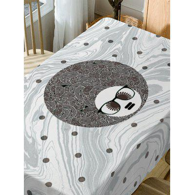Waterproof Spot Big Head Man Print Table ClothTable Accessories<br>Waterproof Spot Big Head Man Print Table Cloth<br><br>Material: Polyester<br>Package Contents: 1 x Table Cloth<br>Pattern Type: Print<br>Type: Table Cloth<br>Weight: 0.5900kg