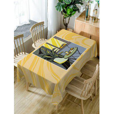 Waterproof Table Chair Print Fabric Table Cloth