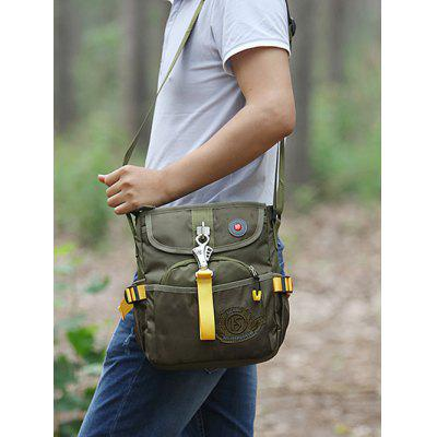 Casual Outdoor Crossbody BagCrossbody Bags<br>Casual Outdoor Crossbody Bag<br><br>Closure Type: Zipper<br>Gender: For Men<br>Height: 29CM<br>Length: 24CM<br>Main Material: Polyester<br>Package Contents: 1 x Crossbody Bag<br>Pattern Type: Others<br>Weight: 0.6000kg<br>Width: 9CM