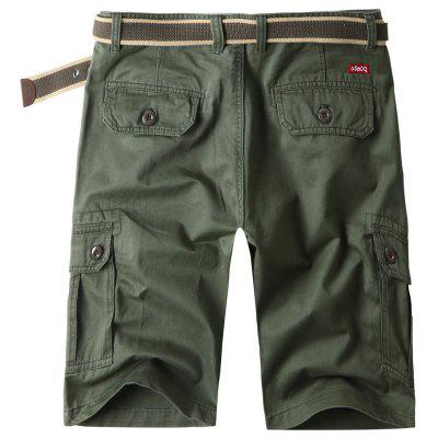 Flap Pockets Cotton Blend Cargo ShortsMens Shorts<br>Flap Pockets Cotton Blend Cargo Shorts<br><br>Closure Type: Zipper Fly<br>Fit Type: Regular<br>Front Style: Pleated<br>Length: Knee-Length<br>Material: Cotton Blends<br>Package Contents: 1 x Shorts<br>Style: Casual<br>Waist Type: Mid<br>Weight: 0.4600kg<br>With Belt: No
