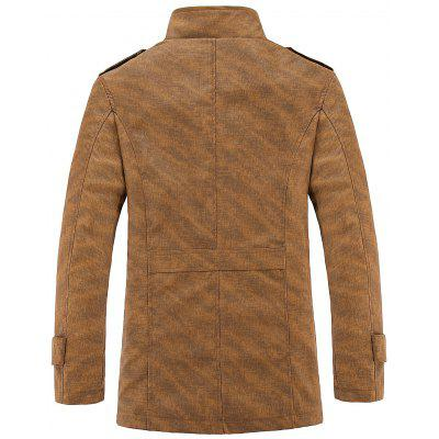 Epaulet Design Casual PU Leather JacketMens Jackets &amp; Coats<br>Epaulet Design Casual PU Leather Jacket<br><br>Closure Type: Single Breasted<br>Clothes Type: Leather &amp; Suede<br>Collar: Stand Collar<br>Material: Cotton, Polyester, PU<br>Occasion: Casual<br>Package Contents: 1 x Jacket<br>Season: Fall, Spring, Winter<br>Shirt Length: Regular<br>Sleeve Length: Long Sleeves<br>Style: Casual<br>Weight: 0.9500kg