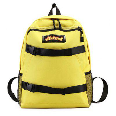 Casual School Backpack for Skateboard