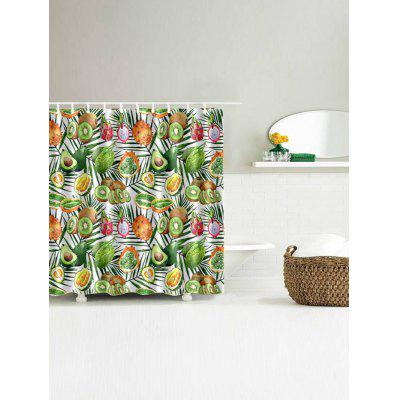 Avocado Kiwi Fruit Print Shower Curtain Bathroom DecorShower Curtain<br>Avocado Kiwi Fruit Print Shower Curtain Bathroom Decor<br><br>Materials: Polyester<br>Number of Hook Holes: W59 inch*L71 inch: 10; W65 inch * L71 inch:10; W71 inch*L71 inch: 12; W71 inch*L79 inch: 12<br>Package Contents: 1 x Shower Curtain 1 x Hooks (Set)<br>Pattern: Fruit<br>Products Type: Shower Curtains<br>Style: Trendy