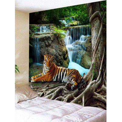 Stream Tiger Print Wall Hanging Tapestry