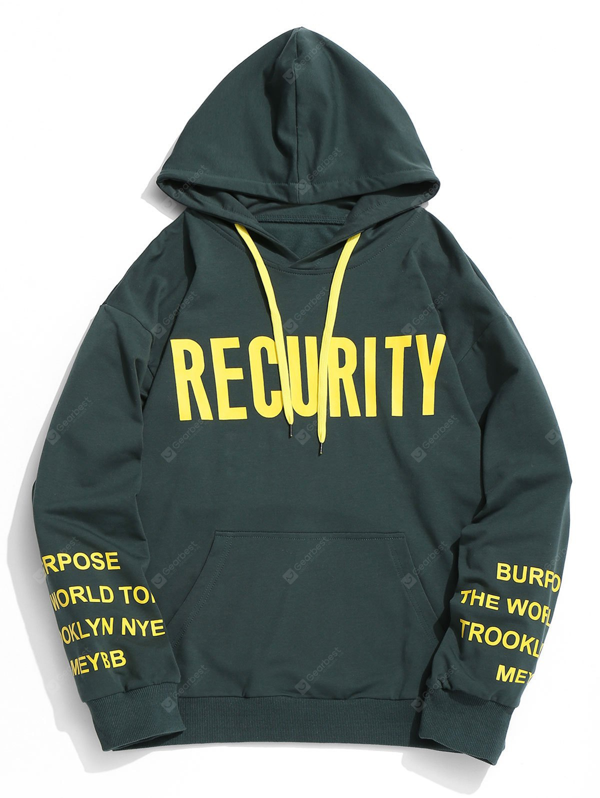 Recurity Graphic Mens Hoodie