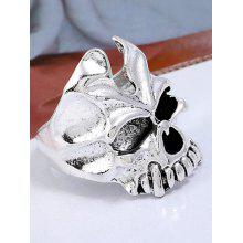 Vintage Alloy Skull Decorated Ring