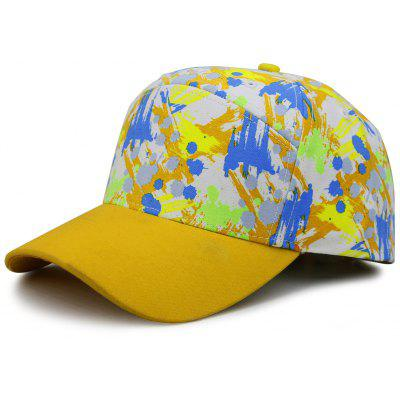 Unique Painting Pattern Adjustable Baseball Hat