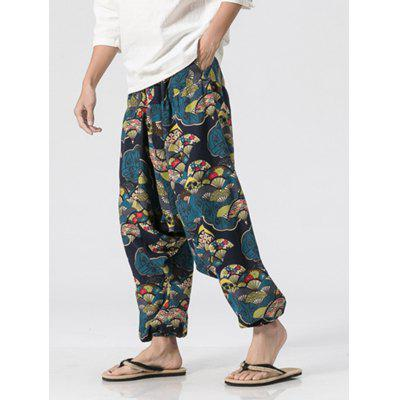 Vintage Fan Pattern Jogger PantsMens Pants<br>Vintage Fan Pattern Jogger Pants<br><br>Closure Type: Elastic Waist<br>Fit Type: Loose<br>Front Style: Flat<br>Material: Cotton, Linen<br>Package Contents: 1 x Jogger Pants<br>Pant Length: Long Pants<br>Pant Style: Jogger Pants<br>Style: Fashion<br>Waist Type: Mid<br>Weight: 0.3200kg<br>With Belt: No