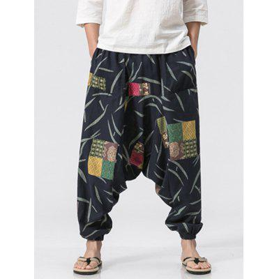 Cotton Linen Printed Jogger PantsMens Pants<br>Cotton Linen Printed Jogger Pants<br><br>Closure Type: Elastic Waist<br>Fit Type: Loose<br>Front Style: Flat<br>Material: Cotton, Linen<br>Package Contents: 1 x Jogger Pants<br>Pant Length: Long Pants<br>Pant Style: Jogger Pants<br>Style: Fashion<br>Waist Type: Mid<br>Weight: 0.3200kg<br>With Belt: No