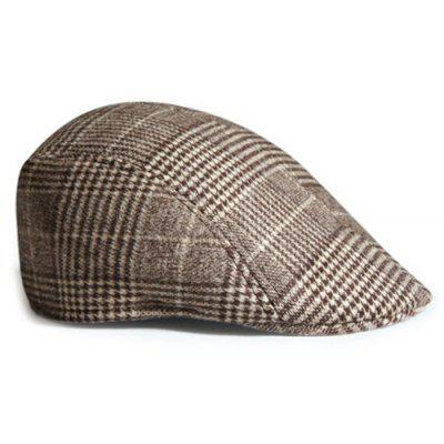 Simple Tartan Pattern Embellished Newsboy HatMens Hats<br>Simple Tartan Pattern Embellished Newsboy Hat<br><br>Circumference (CM): 56-58CM<br>Gender: Unisex<br>Group: Adult<br>Hat Type: Newsboy Caps<br>Material: Polyester<br>Package Contents: 1 x Hat<br>Pattern Type: Plaid<br>Style: Fashion<br>Weight: 0.1200kg
