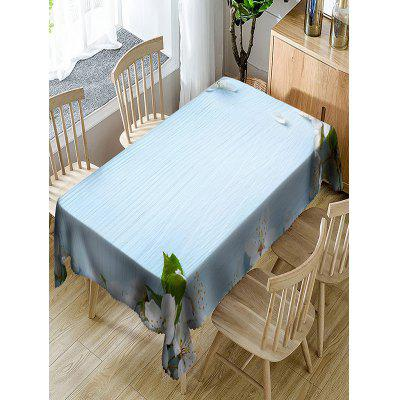 Flower Printed Waterproof Table Cloth