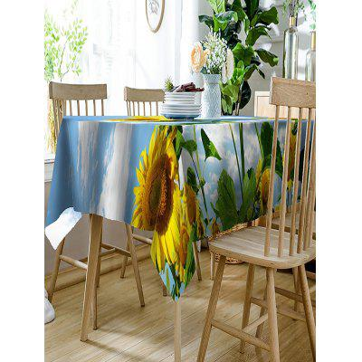 3D Sunflowers Print Waterproof Table ClothTable Accessories<br>3D Sunflowers Print Waterproof Table Cloth<br><br>Material: Polyester<br>Package Contents: 1 x Table Cloth<br>Pattern Type: Floral<br>Type: Table Cloth<br>Weight: 0.4050kg