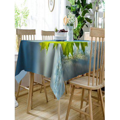 3D Leaf Printed Polyester Waterproof Table ClothTable Accessories<br>3D Leaf Printed Polyester Waterproof Table Cloth<br><br>Material: Polyester<br>Package Contents: 1 x Table Cloth<br>Pattern Type: Plant<br>Type: Table Cloth<br>Weight: 0.3150kg