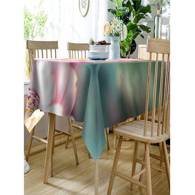 Flower Printed Waterproof Polyester Table ClothTable Accessories<br>Flower Printed Waterproof Polyester Table Cloth<br><br>Material: Polyester<br>Package Contents: 1 x Table Cloth<br>Pattern Type: Floral<br>Type: Table Cloth<br>Weight: 0.2300kg