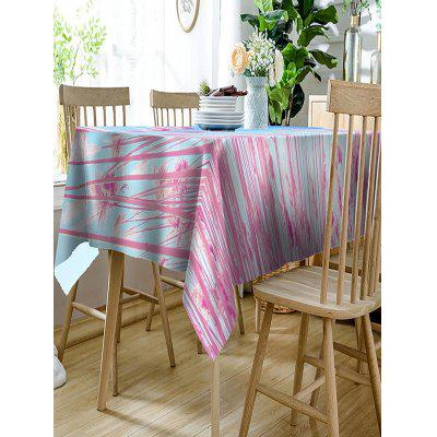 Reed Printed Waterproof Polyester Table ClothTable Accessories<br>Reed Printed Waterproof Polyester Table Cloth<br><br>Material: Polyester<br>Package Contents: 1 x Table Cloth<br>Pattern Type: Plant<br>Type: Table Cloth<br>Weight: 0.2300kg